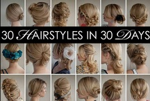 "30 Days of Twist & Pin Hairstyles / All the styles from the first Hair Romance ""30 Hairstyles in 30 Days"" challenge - get the ebook to learn all the how-tos and more tips and tricks for styling your own hair. Available from www.hairromance.com/30-hairstyles-30-days"