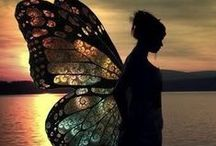 little bit of magic / Angels descending, bring from above, Echoes of mercy, whispers of love. ~Fanny J. Crosby