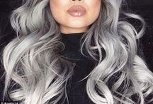 Grey Hair Romance / Grey hair and grey hair hairstyles to inspire! Or should it be gray hair? / by Hair Romance