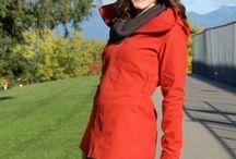 Minoru Jacket Fabric Inspiration / A little bit of fabric inspiration for our Sewaholics Minoru Jacket Session