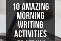 Resources for Writers / Writing tips, resources, and techniques