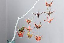 ORIGAMI / I like to create origami :)