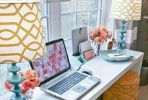 Craft Room Renovation / turning that dim ugly office into a creative haven!