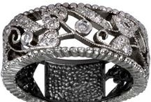 Antique Wedding Bands / We specialize in diamond engagement rings but have a variety of other fine jewelry and can customize any order. Antique wedding bands, precious stone bands, diamond bands, channel set bands, pave set bands, bezel cut bands, marquise cut diamond bands, emerald and diamond bands, sapphire and diamond wedding bands, ruby and diamond wedding bands, filigree wedding bands and milgrain wedding bands.
