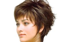 Short Hair Styles / by Pam Garrett