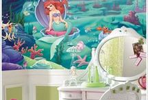 Daughter's Room / If I have a Daughter in the Future I am thinking of doing a Princess in General Theme, or maybe a Little Mermaid Under The Sea Theme. Recently I thought of a Tinkerbel Fairy Theme. I have some plans and ideas for her room when she is a Teenager too. You will see ideas for all of these Room Themes on this Board. I even have some of the toys that I want her to have on this board. ~enjoy~ / by Selah Walker