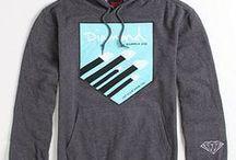 HOODIES & SWEATSHIRTS / Cool designs for hoodies and sweatshirts from Fall/Winter 12/13