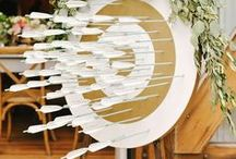 Wedding Escort Cards and Table Numbers