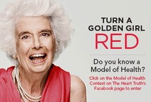 Model of Health Contest 2013 / CONTEST CLOSED. Do you know a senior that is making health last? Turn a golden girl RED by nominating her for our Model of Health Contest on Facebook! She could walk the runway at the Heart Truth Fashion show this March in Toronto. Contest ends January 31st, 2013. / by The Heart Truth