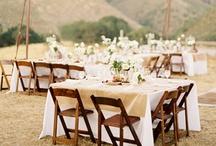 wedding style: rustic