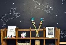 Playroom Re-do / creating a wonderful play and craft area
