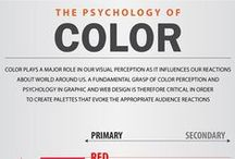 Psychology of color in design / The meaning of colors in logo and identity design.