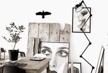 Interior | black & white