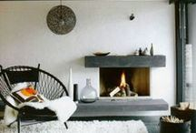 Fireplace inspiration / Living room inspiration