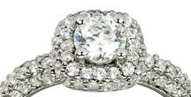 White Diamonds / We specialize in diamond engagement rings but have a variety of other fine jewelry and can customize any order. They say diamonds are a girl's best friend and we agree! We have included a collection of diamond rings and other diamond things like, diamond bracelets, diamond earrings, diamond pendants and lockets and diamond necklaces...