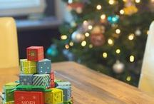 Christmas Activities with the Kids / Simple craft and advent activities for the kids at Christmas time