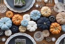 Kitchen Table / Harvest table inspiration for a light, bright and modern look.
