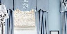 Window Treatments and Hardware / Find window treatment design ideas and inspiration. Explore pleats and panels, trimmings and creative construction techniques.