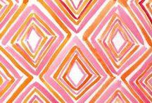 Citrus Chic: Pink & Orange