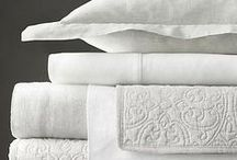 ''my VERYstuffed linen closet'' / my weakness...good linens,blankets,pillows,rugs,drapes....they are the icing on ''serenity''.... / by Kathi Mackarevich