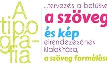 my typography / I designed Typographics- saját tervezésű tipográfiák