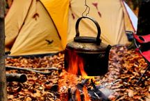 A Camping We Shall Go / by Kathy Jolie