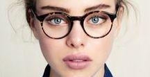 Lunettes - Glasses / Fini les lentilles, on assume pleinement ses lunettes, de soleil comme de vue !