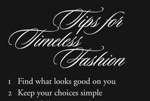 Style Tips and Tidbits