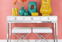 Horchow Now: Pop! Culture / Pop! Culture Trend: High octane, vibrant colors, updated chinoiserie, and artful mix of fabulous prints make your home Pop! #popculture