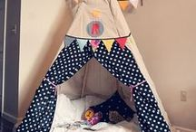 Fabric Teepees / I've been asked to make a fabric #teepee - I can't say who for - it's kind of a special 'present'. These are my favourites for inspiration. #MinistryofCraft