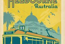 Old Melbourne / Melbourne is not only the best city in Australia I think it's the best city in the world. Take a look at how it's grown into what it is today.  / by Liza Clear