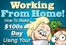 Making Money Online / This is where I post legitimate ways you can make money from home or anywhere for that matter...Check back often as I will be adding to this list periodically. I will also include high quality products and tools that I use in my business.