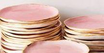 Vaisselle & Céramiques - Dishes & Ceramic / En attendant d'avoir une immense et belle cuisine, je rêve de pouvoir m'offrir de la belle vaisselle, unique et artisanale.