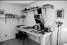 Home office | Photo studio / Decoration inspiration for my home office & photography studio