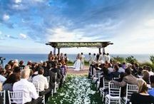 Beach wedding | Dream honeymoon / A beach wedding and tropical honeymoon.