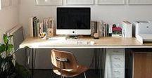 Bureau - Office - Workspace / Si vous cherchez à aménager votre bureau pour travailler sereinement, vous êtes au bon endroit !