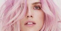 Cheveux colorés - Colorful Hair / Du rose, du bleu, ou de toutes les couleurs... Et si on mettait un peu d'arc-en-ciel dans nos cheveux ? Après tout, ce ne sont que des cheveux, on a bien le droit de s'amuser un peu !