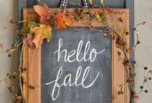 Fall / Fall Holiday Decor Inspiration | Halloween | Thanksgiving