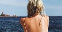 Plage en été - Beach Life - Summer / C'est l'amour à la plage, ahou, tcha tcha !  Pour cet été, voici des images d'inspiration de plages, d'Océan, de maillots de bain...