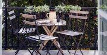 Décoration d'extérieur - Outdoor decoration / Un tableau pour avoir plein d'idées d'aménagement pour une terrasse, un balcon ou un jardin. Meubles d'extérieur, décoration, trouvez l'inspiration !