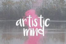 artistic mind / As a designer I am very inspired by art around the world. This board features art from anywhere and anything including natural materials.