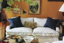Living Spaces-In Color / by Cindy Hattersley Design/Rough Luxe Lifestyle Blog
