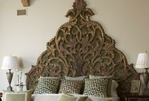 Bedrooms-Headboard Heaven / by Cindy Hattersley Design/Rough Luxe Lifestyle Blog