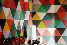 Colorful Interiors / I love colour!  I love to see other people use colour in their interiors, and here are some examples from all over the world in homes, offices, hotels, shops and churches - all brightening people's lives!