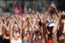 Solstice in Times Square: Mind Over Madness Yoga