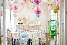 Party planning / Ideas and inspiration for events and parties. Table settings, decorations, things to do and anything in between.