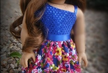 Free pattern for American girl dolls and other 18 inch dolls / by Malen Chan