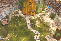 Enchanted Fairy Gardens / by Mary Wilson