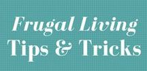 Frugal Living Tips & Tricks / Learn to live beneath your means to have a simpler, happier life. Tips to save money, get out of debt, and live rich. This board is dedicated to frugal living ideas, meals, DIY, budgeting, making and saving money, recipes, tips and more!