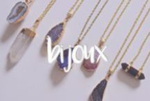 bijoux . finishing touches / I adore jewelry and accessories and can never leave the house without that extra finishing touch.